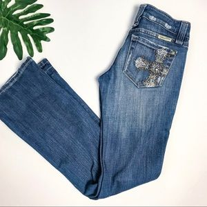 Miss Me Boot cut Jeans Size 25 x 31